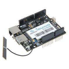 Linux, WiFi, Ethernet, USB, All-in-one Yun Shield for Arduino Leonardo, UNO, Mega2560, Duemilanove Development Board