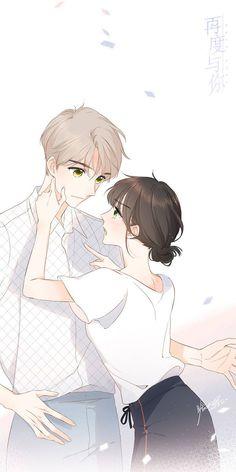 Cute Couple Art, Anime Love Couple, Anime Couples Drawings, Anime Couples Manga, Anime Cupples, Anime Guys, Loli Kawaii, Kawaii Anime, Anime Art Girl