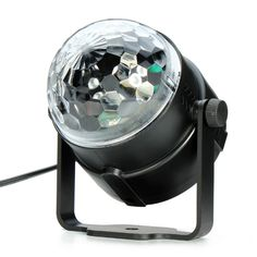 3W RGB LED Projector DJ Light Disco Ball LED Par Crystal Magic ball bar Party Xmas effect Stage Lights Free Shipping
