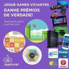 jogos para se divertir e ganhar prêmios de verdade!! PC ou celular!   joysticket.com