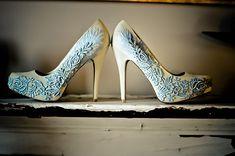 Winter Wedding Color Ideas of Pale Blue