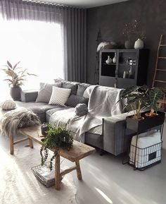 The neo art deco, new breath for the - HomeDBS Dark Living Rooms, Bohemian Living Rooms, Living Room Colors, My Living Room, Home And Living, Living Room Decor, Bohemian Decor, Interior Design Living Room Warm, Room Interior