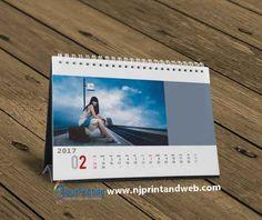 Table Calendar, 2016 Calendar, Yearly Calendar, Table Tents, 365 Photo, Calendar Design, Planner Template, Table Desk, Weekly Planner