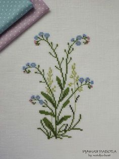 by natulja-best 2 Piece of summer 2 Cross Stitch Love, Cross Stitch Flowers, Cross Stitch Designs, Cross Stitch Patterns, Cross Stitching, Cross Stitch Embroidery, Hand Embroidery, Sewing Material, Needlework
