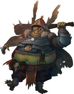 Fat goblin cook