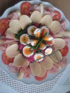 Cviklovo-vajíčkový šalát