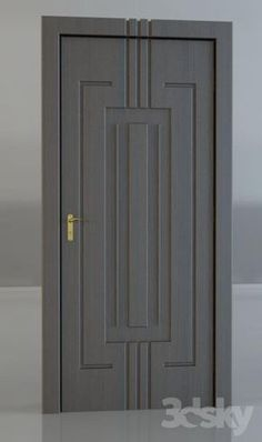 Search for our thousands of Interior Wood Doors available in a variety of designs, styles, and finishes. They have superior quality that satisfies your taste. Modern Wooden Doors, Wooden Door Design, Main Door Design, Front Door Design, Custom Interior Doors, Door Design Interior, Interior Barn Doors, Exterior Doors, Entry Doors