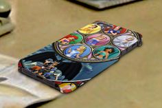 disney princes stained glass 3D iPhone Cases for by TREEDECASE, $16.00