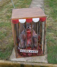 DIY caged creepy animals