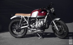 """GasCap Motor's Blog: BMW R100 """"RUBY RING"""" by Crd Cream Motorcycles"""