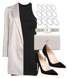 """""""Style #10480"""" by vany-alvarado ❤ liked on Polyvore featuring Topshop, The Row, Yves Saint Laurent, Manolo Blahnik, ASOS and Marc by Marc Jacobs"""