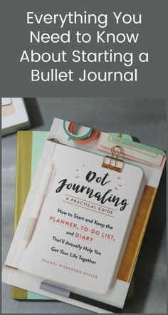 Want to make a bullet journal but don't know where to start? You have to read Dot Journaling: A Practical Guide! I loved it!