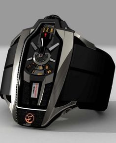 AK Geneve, HMS Automatic Warp Watch - Mens Watches. Something a Transformer would wear.