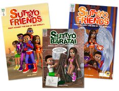 You can order the physical copy of Suttyo comic books now!