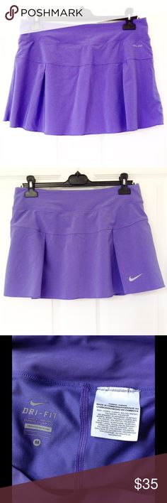 Nike Dri Fit Active Skirt ✔Built in shorts. ✖No stains, no holes, no damage ✔Reasonable offers or bundle 3 items or more to get 20% discount. ✔Same day shipping ✔FREEBIE ✔Packaging - your item is wrapped in a new gift tissue, placed in a new plastic shopping bag & topped with a thank you card. ✔Inquiries, questions and requests are welcome. ✖No outside PP transaction and no trades. Nike Skirts