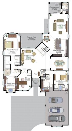 Foyer Storage, Concrete Roof Tiles, Delray Beach Florida, Boca Raton Florida, House Blueprints, House Elevation, New Homes For Sale, Formal Living Rooms, House Layouts