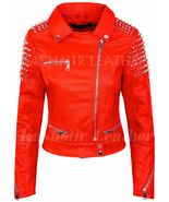New Women Full Red Silver Studded Punk Hot Club Unique Rock Biker Leathe... - $189.99+ Handmade Leather Shoes, Brown Leather Shoes, Brown Shoe, Dark Brown Leather, Leather And Lace, Suede Leather, Leather Men, Purple Suede, Purple Leather