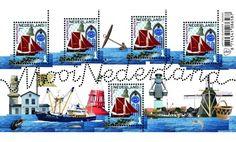 Mooi Nederland 2016: Vissersplaatsen - Arnemuiden - Postzegelvellen - Postzegelproducten