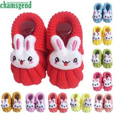 >> Click to Buy << CHAMSGEND baby shoes baby moccasins winter autumn Baby Girls Boys Rabbit Crochet Handmade Knit High-top Shoes Pink S40 #Affiliate