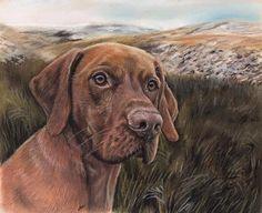 Commission a pastel portrait