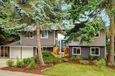 Exterior to this stylishly renovated home in Kirkland, WA!
