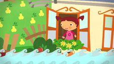 Által mennék én a Tiszán ladikon... (gyerekdal, rajzfilm gyerekeknek)