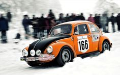 Rally Monte Carlo. VW Beetle 1302
