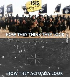 ISIS, how they actually look