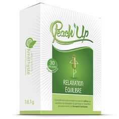 complément alimentaire Peach'Up Relaxation Equilibre. Un complément alimentaire naturel contre le #stress - #Relax