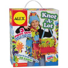 Fleece Knotting Activity Kit for Kids - ALEX - Knot A Lot Kit