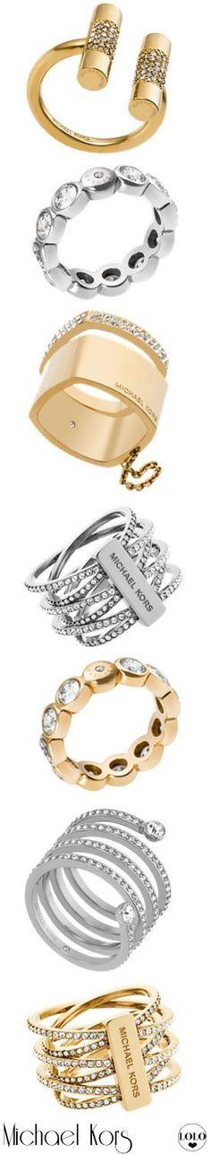 Michael Kors Assorted Rings | LOLO❤