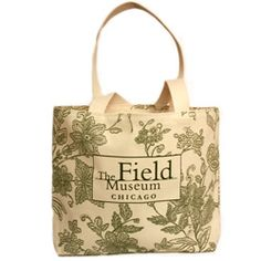 Floral Field Museum Tote $28