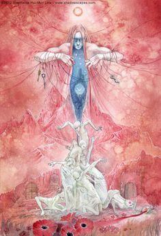 Stephanie Pui-Mun Law - Dreamdance Oracle : Despair (A new oracle deck coming soon!)