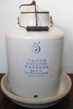 Red Wing stoneware jug - love anything stoneware!                ****