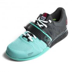 070cd003738 Reebok teal and grey lifting shoes Worn a few times