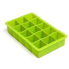 "1.25"" Square Ice Cube Tray"