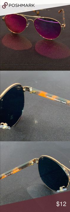 "bd61b9355b Foster Grant ""Shape Sunglasses Foster Grant ""Shape"" Flat face Sunglasses  Minor used Frames with pink lenses that have a few scratches on them Does  not come ..."