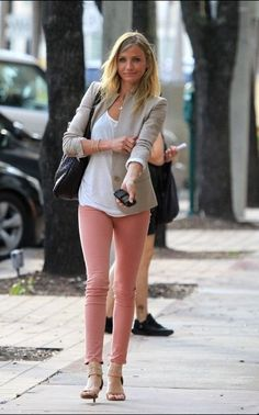 Cute pastel outfit, again, minus shoes