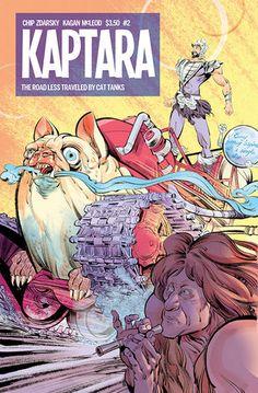 Kaptara #2  by Chip Zdarsky, Kagan McLeod #graphicnovel #spaceopera