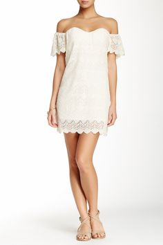 Claremont Lace Dress on @HauteLook