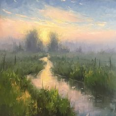 Daybreak by Stacey Peterson Oil ~ 24 x 24