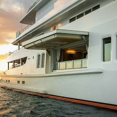 What a balcony.... Follow @____tycoon____ . . . Photo from @luerssenyachts  #yachts #sea #yachtluxury