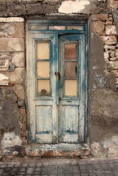 Old door by Tonny Servaas - Photo 89654663 / Vintage Doors, Antique Doors, Old Windows, Windows And Doors, Entrance Doors, Doorway, Gates Of Hell, Cool Doors, Rustic Doors
