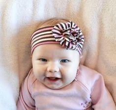 Tiara linda para bebê passo a passo