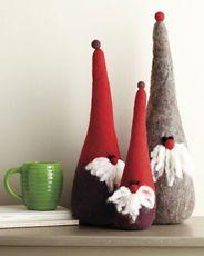 felt gnomes!
