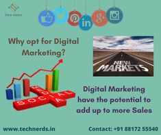 Increase your Sales up to the Potential by opting for Digital Marketing To Get An Efficient Social Media Strategy For Your Business: Reach Us At : www.technerds.in/contact/  Call or WhatsApp Us : +91 88172 55540 Best Digital Marketing Company, Nerd, Social Media, How To Get, Ads, Logos, Business, Logo, Otaku