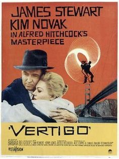 Alfred Hitchcock presents VERTIGO starring James Stewart & Kim Novak http://www.bing.com/images/search?q=1950%27S+B+Movies+List&view=detail&id=4B634260DA195E0AE1AF8E5D8EE0DC695CA9A155