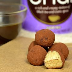 These soft chai truffles with white chocolate have a subtle spiced chai flavor. Easy to make.
