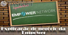 Explicação do negócio da Empower Network. Eu quero garantir que você tem acesso a esta informação. Assim, se não teve a oportunidade de assistir em direto, pode ver aqui a gravação. VER ARTIGO: http://blog.ruimagalhaes.net/explicacao-do-negocio-da-empower-network