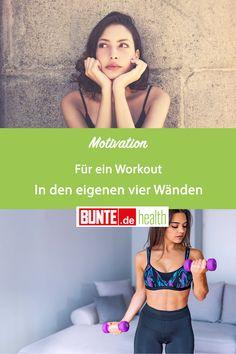 Mit diesen Tipps kannst du dich für ein Workout in den eigenen vier Wänden motivieren. #motivation #sport #fitness #zuhause #tipps #übungen